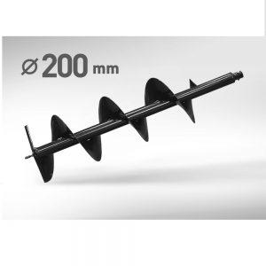 Шнек мотобура 200мм